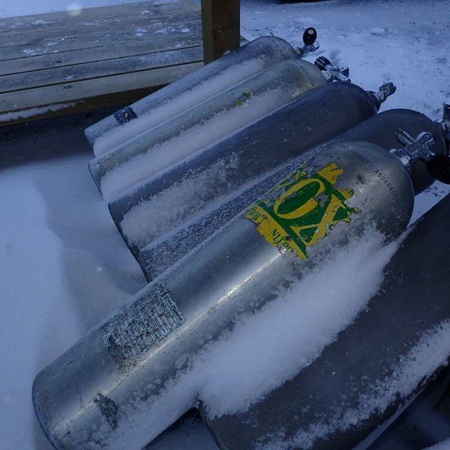 frozen tanks