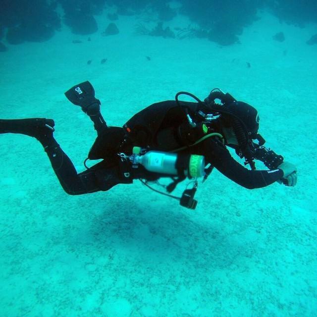 KISS Spirit Sidewinder, best rebreather in the planet