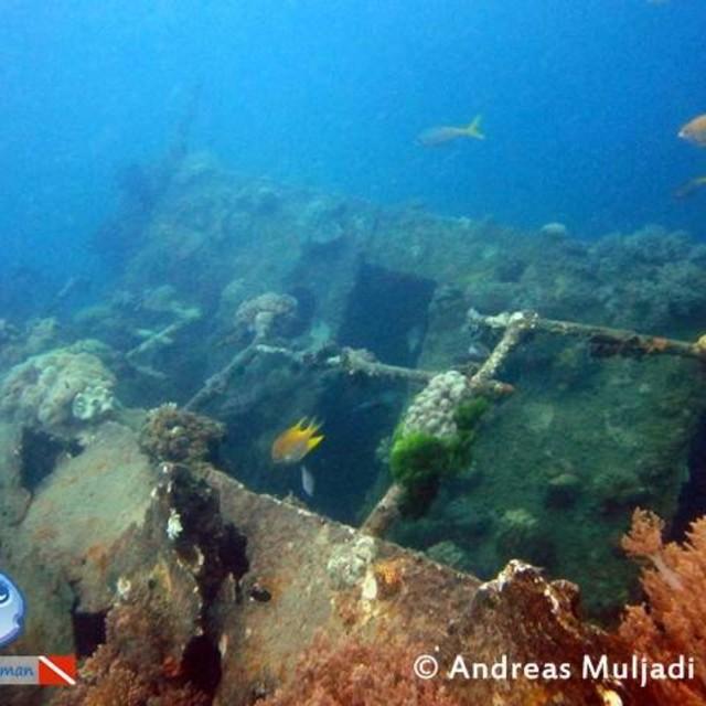 Indonor wreck Karimunjawa